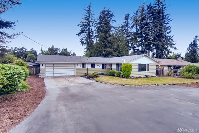 Puyallup Single Family Home For Sale: 9824 72nd Av Ct E