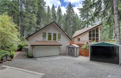 Mason County Single Family Home Pending Inspection: 210 N Clallam Place