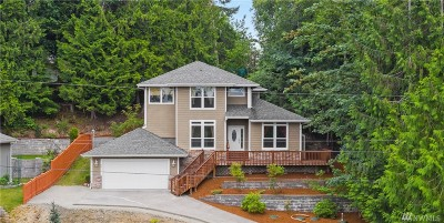 Single Family Home For Sale: 2411 Crestridge Dr NW
