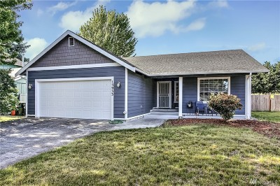 Yelm Single Family Home Pending: 15933 Quail Meadows Ct SE
