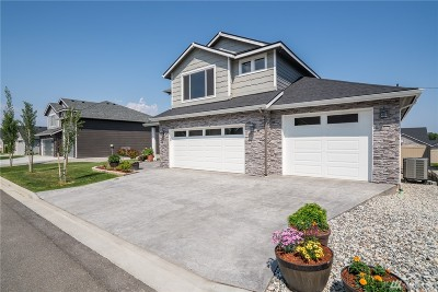 Wenatchee Single Family Home For Sale: 1709 Danny Boy Lane