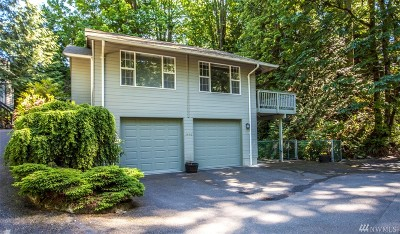 Bellingham Single Family Home For Sale: 1496 Silver Beach Rd
