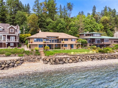 Bainbridge Island Single Family Home For Sale: 10011 NE South Beach Dr