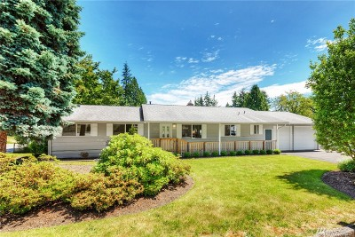 Woodinville Single Family Home For Sale: 19426 131st Ave NE