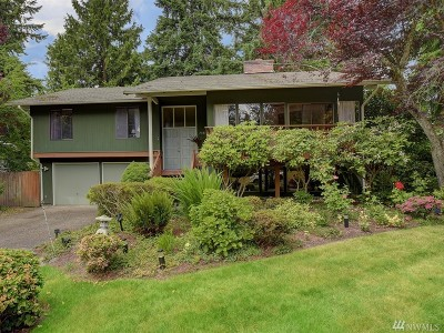 Mercer Island WA Single Family Home For Sale: $1,390,000
