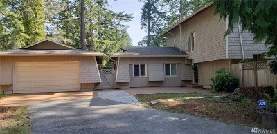 Gig Harbor Single Family Home For Sale: 3608 70th Ave NW