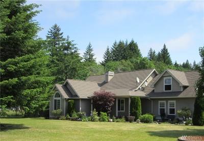 Mason County Single Family Home Pending Inspection: 241 SE Binns Swiger Lp
