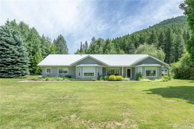 Chelan County Single Family Home For Sale: 11111 Eagle Creek Rd