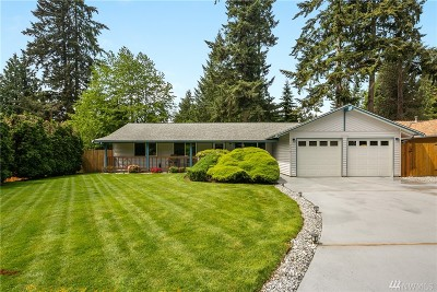 Woodinville Single Family Home For Sale: 19219 133rd Place NE