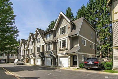 Redmond Condo/Townhouse For Sale: 9511 182nd Place NE #106