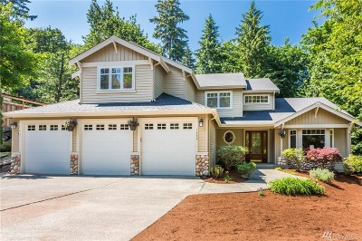 Issaquah Single Family Home For Sale: 1490 Hillside Dr SE