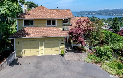 Seattle Single Family Home For Sale: 8428 S 124th Place