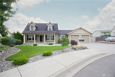 Chelan County Single Family Home For Sale: 1515 Willow Place