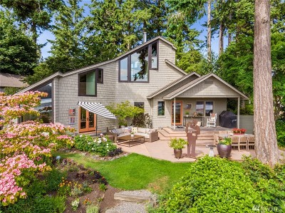 Bainbridge Island Single Family Home For Sale: 6431 Wing Point Rd NE