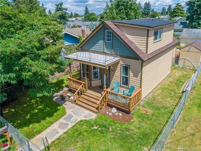 Tacoma Single Family Home For Sale: 5011 S K St