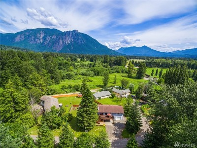Snoqualmie Single Family Home For Sale: 8462 Spruce Place SE