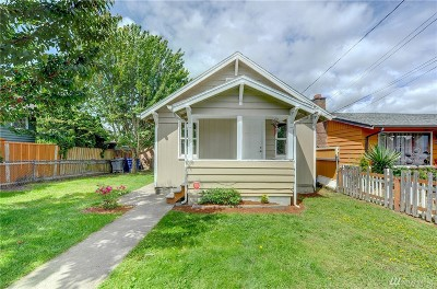 Renton Single Family Home For Sale: 321 Wells Ave N