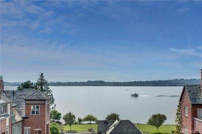 Kirkland Single Family Home For Sale: 6604 Lake Washington Blvd NE