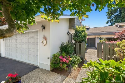 Shoreline Single Family Home For Sale: 1821 NW 195th St #11