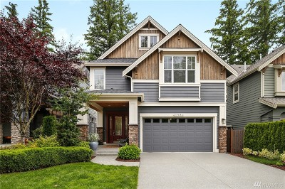 Sammamish Single Family Home For Sale: 25836 28th Place
