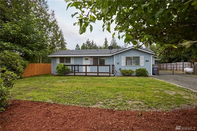 Mason County Single Family Home Pending: 2301 E Crestview Dr