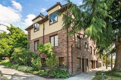 Seattle Condo/Townhouse For Sale: 1305 E Republican St #9