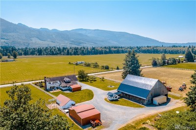 Skagit County Single Family Home For Sale: 30983 Walberg Rd