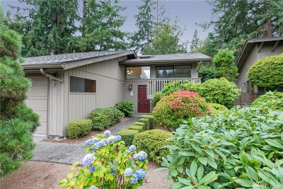 Bellevue Single Family Home For Sale: 7 168th Ave NE