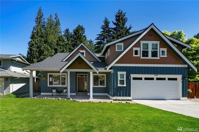 Issaquah Single Family Home For Sale: 4210 191st Ave NE