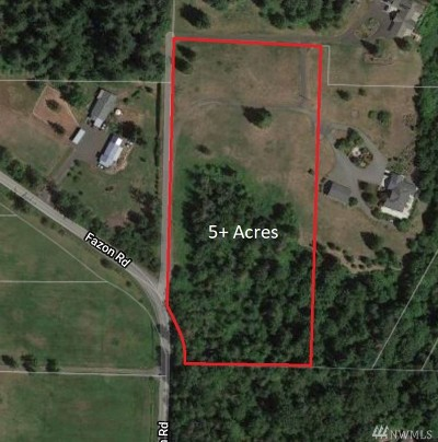 Bellingham Residential Lots & Land For Sale: 5952 Fazon Rd