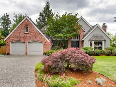 Sammamish Single Family Home For Sale: 4727 241st Ave SE