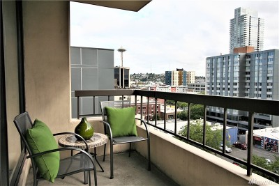 Condo/Townhouse Sold: 2201 3rd Ave #905