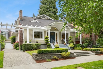Seattle Single Family Home For Sale: 1852 E Shelby St