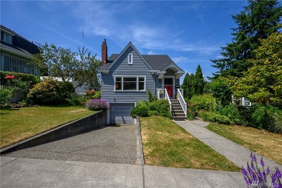 Seattle Single Family Home For Sale: 1707 3rd Ave N