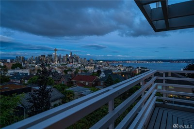 Seattle Single Family Home For Sale: 411 Prospect St