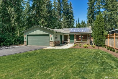 Snohomish Single Family Home For Sale: 9331 212th St SE