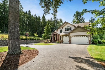 Thurston County Single Family Home For Sale: 8819 82nd Lane SE