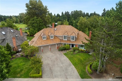 Mercer Island Single Family Home For Sale: 7760 81st Place SE