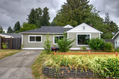 Tumwater Single Family Home Pending: 516 I St SW