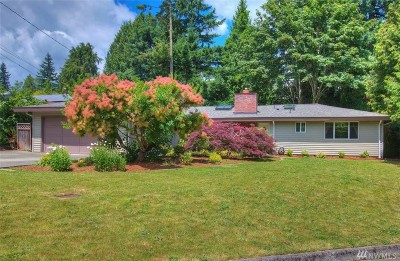 Bellevue Single Family Home For Sale: 16702 SE 11th St