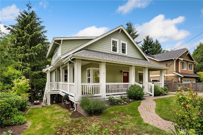 Single Family Home For Sale: 11341 5th Ave NE