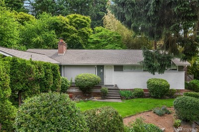 Bellevue Single Family Home For Sale: 1718 108th Ave SE
