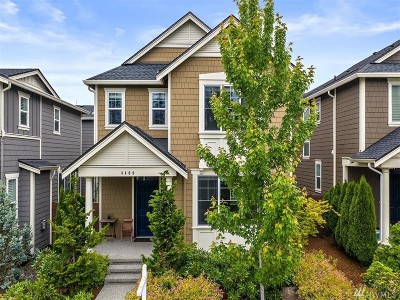 Bothell Single Family Home For Sale: 4409 186th Place SE