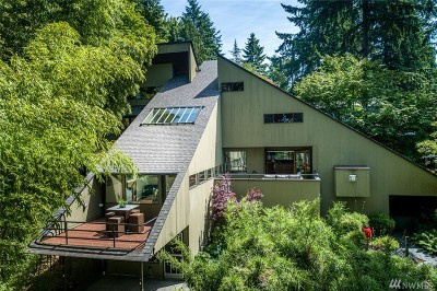 Kirkland Single Family Home For Sale: 11643 73rd Place NE