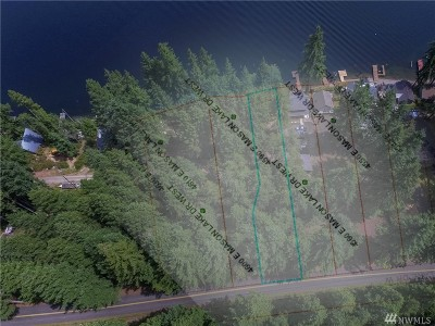 Mason County Residential Lots & Land Pending Feasibility: 4590 E Mason Lake Dr W