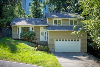 Bellingham WA Single Family Home For Sale: $383,500
