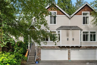 Bothell Condo/Townhouse For Sale: 2627 191st St SE #A