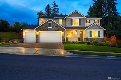 Puyallup Single Family Home Contingent: 2422 Fruitland Ridge Dr