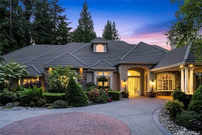 Snohomish County Single Family Home For Sale: 15618 Fairway Fountains Ct SE