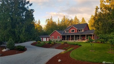 Skagit County Single Family Home For Sale: 18943 Milltown Rd